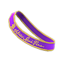 Prom Sash - Purple