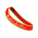 Prom Sash - Red