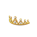 Prom Tiara - Gold