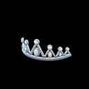 Prom Tiara - Silver