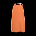 Slip Dress - Orange