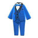 Vibrant Tuxedo - Blue