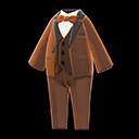 Vibrant Tuxedo - Brown