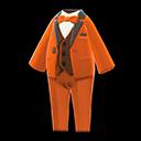 Vibrant Tuxedo - Orange