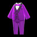 Vibrant Tuxedo - Purple