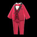 Vibrant Tuxedo - Red