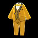 Vibrant Tuxedo - Yellow