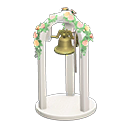Nuptial Bell - White
