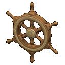 Ship-Wheel Door Decoration