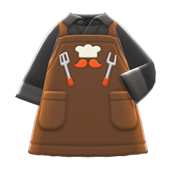 Thank-You Dad Apron - Brown