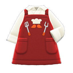 Thank-You Dad Apron - Red
