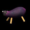 Eggplant Cow - Na
