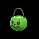 Spooky Treats Basket - Green