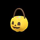 Spooky Treats Basket - Yellow