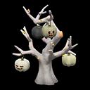 Spooky Tree - Monochrome